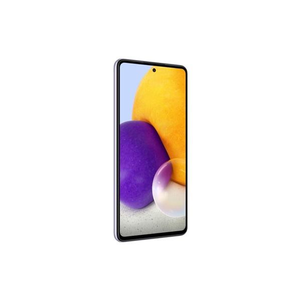Samsung SM-A725FLVDEUE Galaxy A72 6,7 LTE 6/128GB Dual SIM világos lila okostelefon - 2