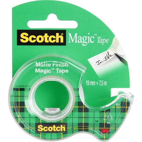 Scotch Magic 19mmx7,5m adagolós ragasztószalag - 1