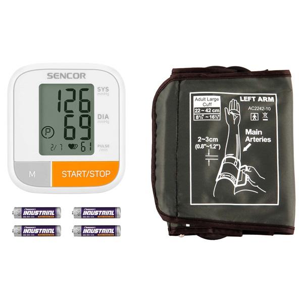Sencor SBP 6800WH vérnyomásmérő - 2