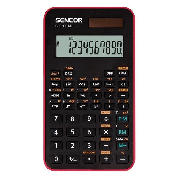 Sencor SEC 106 RD tudományos számológép - 1