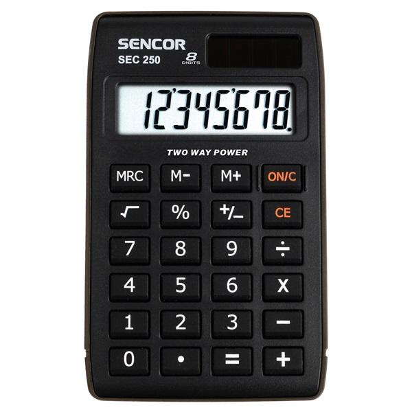 Sencor SEC 250 zsebszámológép - 1