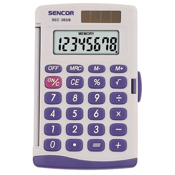 Sencor SEC 263/8 Zsebszámológép - 1