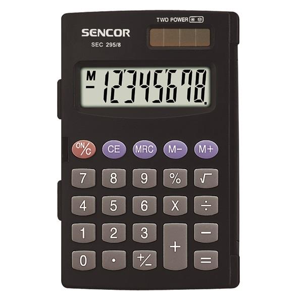 Sencor SEC 295/8 Zsebszámológép - 1