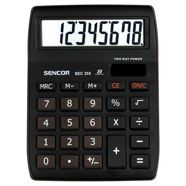Sencor SEC 355 asztali számológép - 1