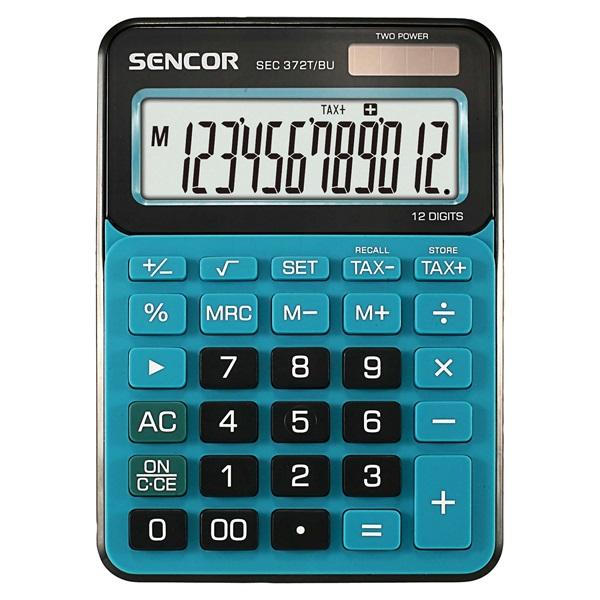 Sencor SEC 372T/BU asztali számológép - 1