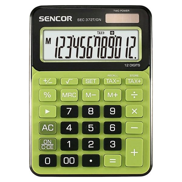 Sencor SEC 372T/GN asztali számológép - 1