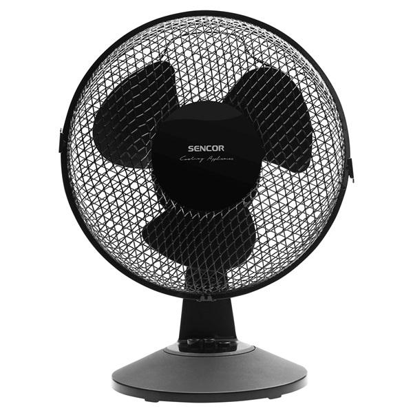 Sencor SFE 2311BK fekete asztali ventilátor - 1