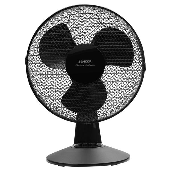 Sencor SFE 3011BK fekete asztali ventilátor - 1