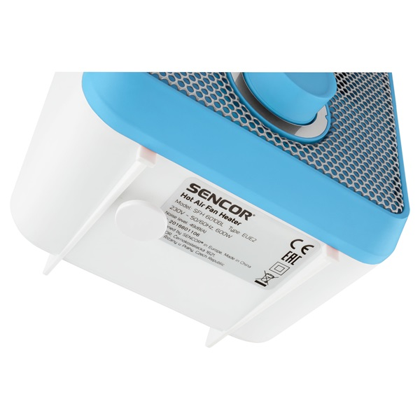 Sencor SFH 6010BL ventilátoros hősugárzó - 4