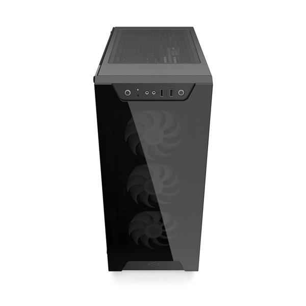SilentiumPC Armis AR6X EVO TG ARGB Fekete (Táp nélküli) ablakos E-ATX ház - 17