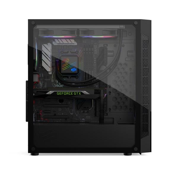 SilentiumPC Armis AR6X EVO TG ARGB Fekete (Táp nélküli) ablakos E-ATX ház - 8