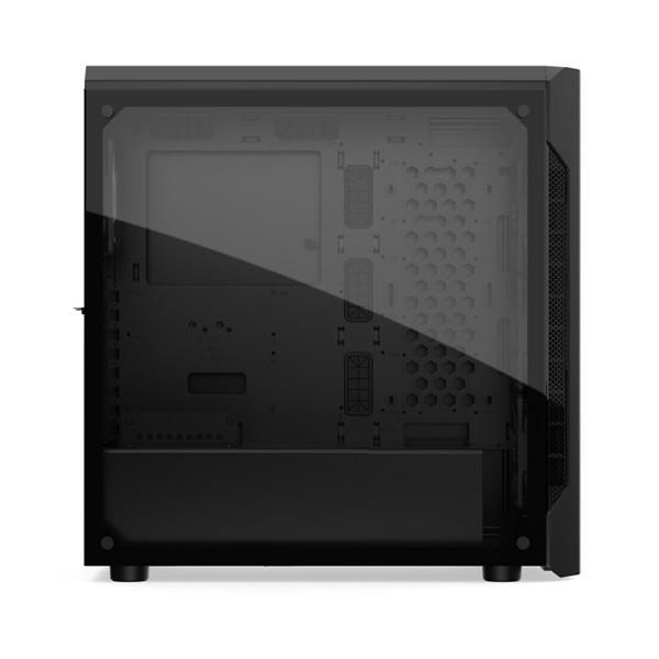 SilentiumPC Armis AR7X EVO TG ARGB Fekete (Táp nélküli) ablakos ATX ház - 10