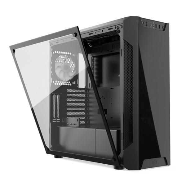 SilentiumPC Armis AR7X EVO TG ARGB Fekete (Táp nélküli) ablakos ATX ház - 26