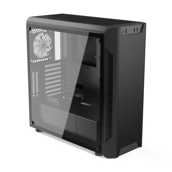 SilentiumPC Armis AR7X EVO TG ARGB Fekete (Táp nélküli) ablakos ATX ház - 5