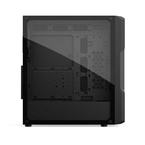 SilentiumPC Astrum AT6V TG Fekete (Táp nélküli) ablakos E-ATX ház - 10