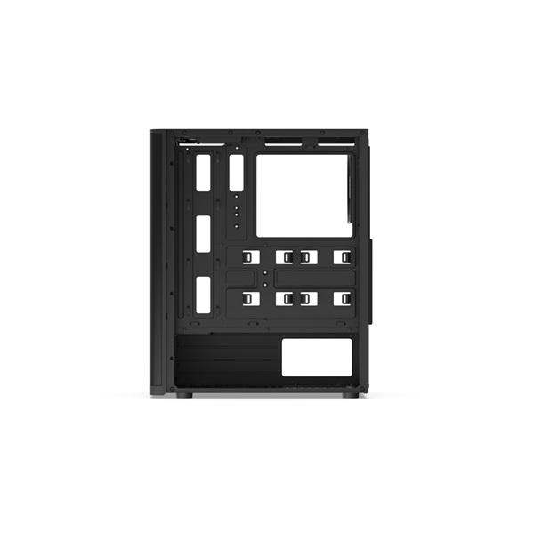 SilentiumPC Ventum VT2 TG Fekete (Táp nélküli) ablakos ATX ház - 12