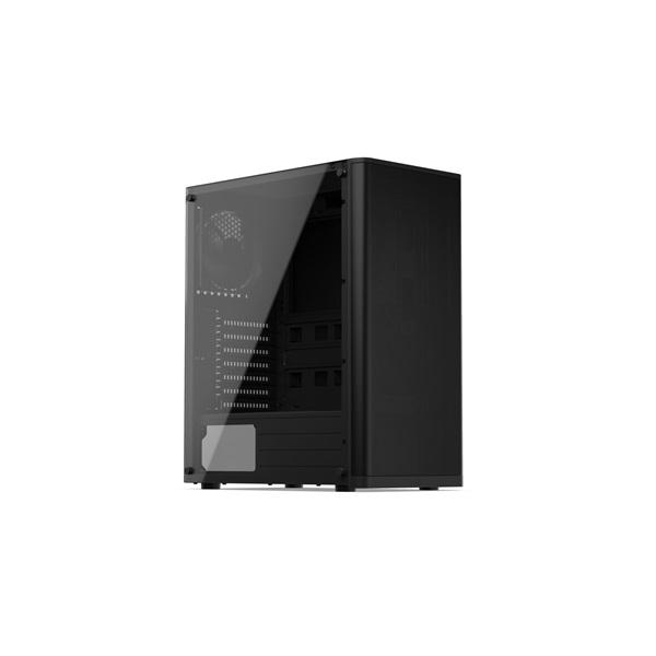 SilentiumPC Ventum VT2 TG Fekete (Táp nélküli) ablakos ATX ház - 2