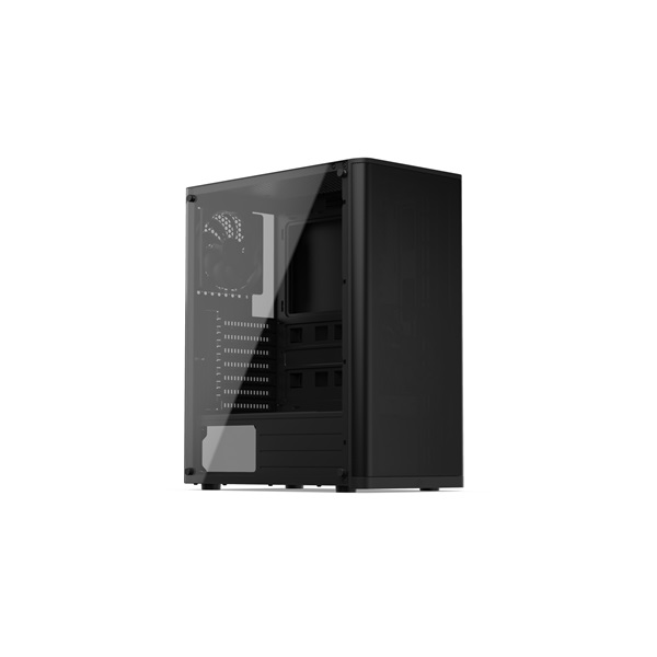 SilentiumPC Ventum VT2 TG Fekete (Táp nélküli) ablakos ATX ház - 3