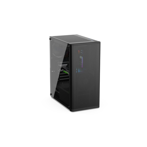 SilentiumPC Ventum VT2 TG Fekete (Táp nélküli) ablakos ATX ház - 6