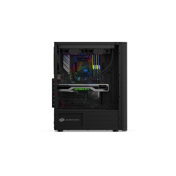 SilentiumPC Ventum VT2 TG Fekete (Táp nélküli) ablakos ATX ház - 9