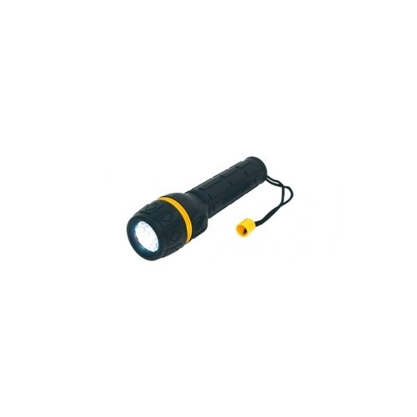 Somogyi PLR 01 vízállló, gumírozott sárga elemlámpa - 1