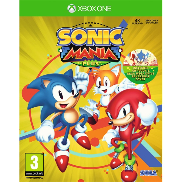 Sonic Mania Plus Xbox One játékszoftver - 1