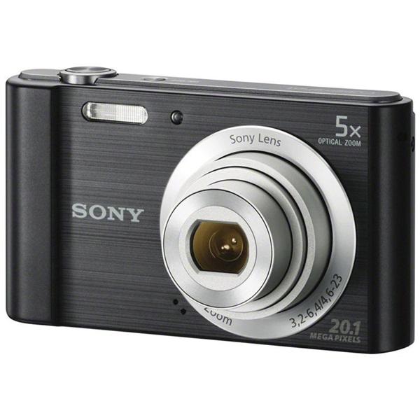 Sony DSC-W800B fekete digitális fényképezőgép - 1