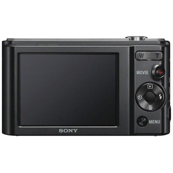 Sony DSC-W800B fekete digitális fényképezőgép - 2
