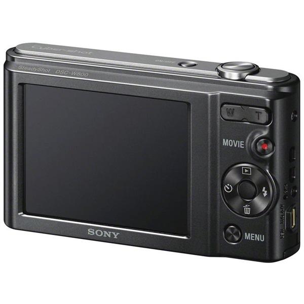 Sony DSC-W800B fekete digitális fényképezőgép - 3