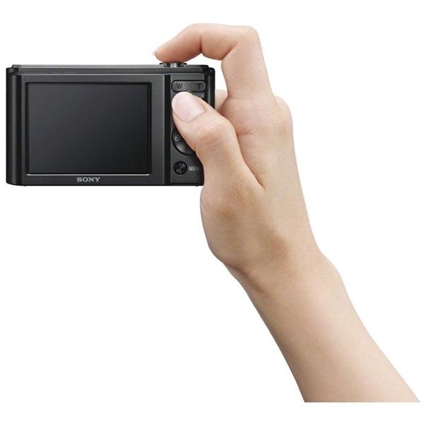 Sony DSC-W800B fekete digitális fényképezőgép - 4