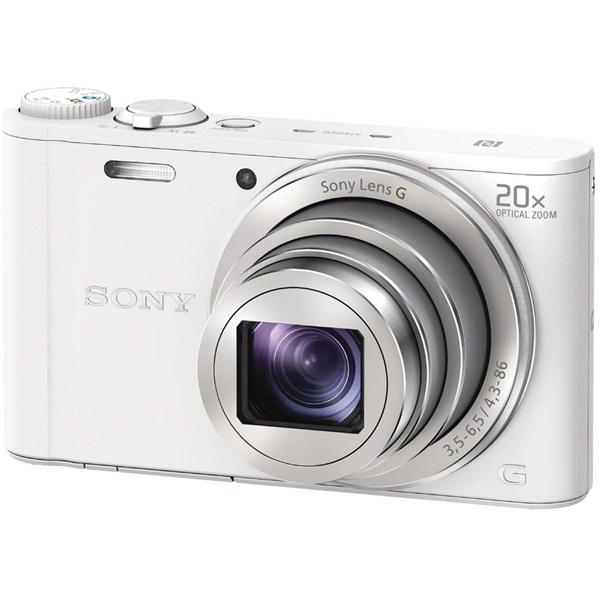 Sony DSC-WX350W fehér digitális fényképezőgép - 1