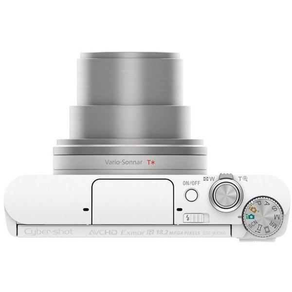 Sony DSC-WX500W fehér digitális fényképezőgép - 6