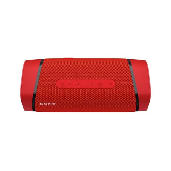 Sony SRS-XB33 piros hordozható Bluetooth hangszóró - 2