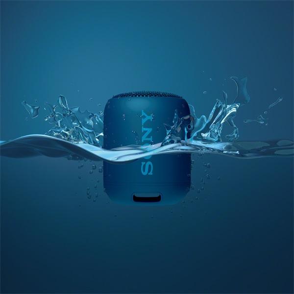 Sony SRSXB12L kék Bluetooth hangszóró - 5