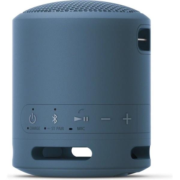 Sony SRSXB13L Extra Bass Bluetooth vezeték nélküli világoskék hangszóró - 3