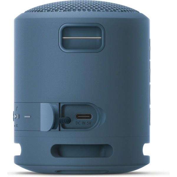 Sony SRSXB13L Extra Bass Bluetooth vezeték nélküli világoskék hangszóró - 4