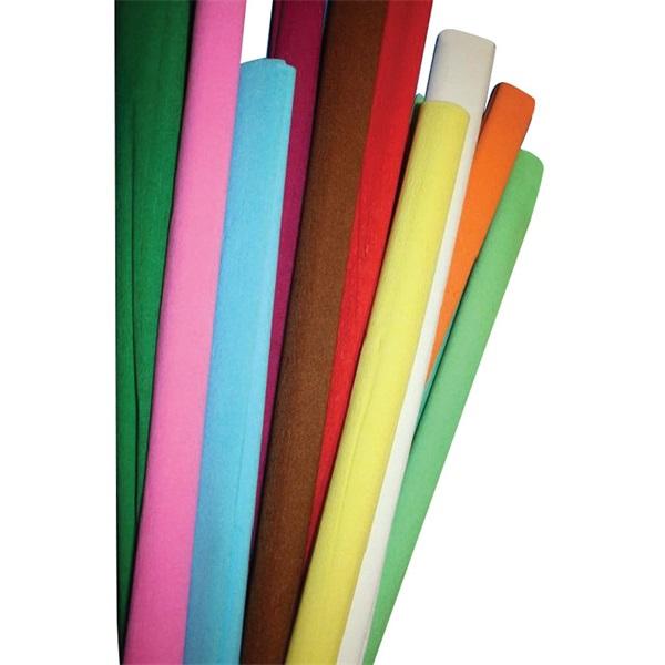 Sötét rózsaszín krepp-papír - 1