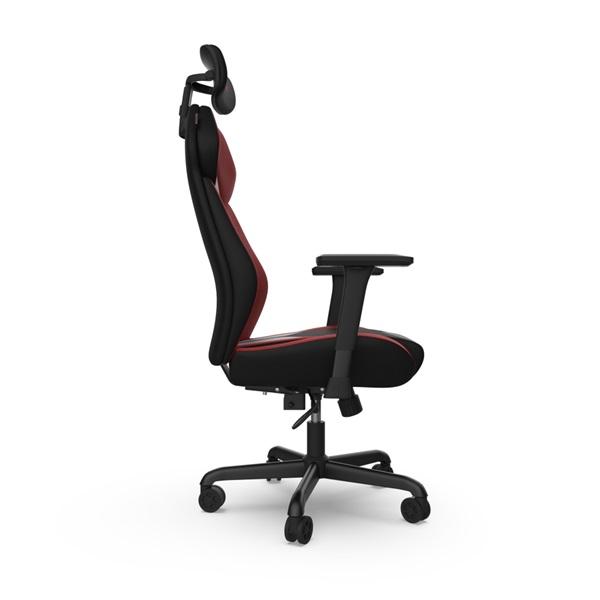 SPC Gear EG450 piros / szürke ergonómikus gamer szék - 10