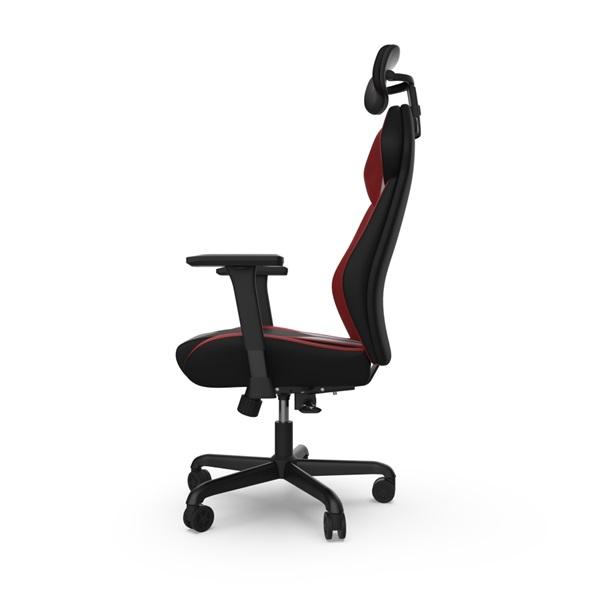 SPC Gear EG450 piros / szürke ergonómikus gamer szék - 11