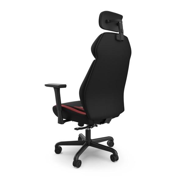 SPC Gear EG450 piros / szürke ergonómikus gamer szék - 8