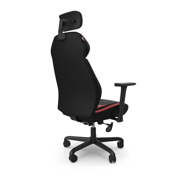 SPC Gear EG450 piros / szürke ergonómikus gamer szék - 9