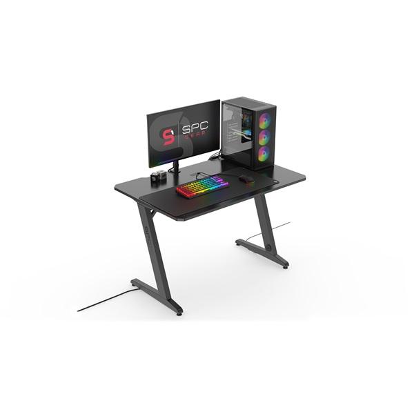 SPC Gear GD100 fekete gamer asztal - 11