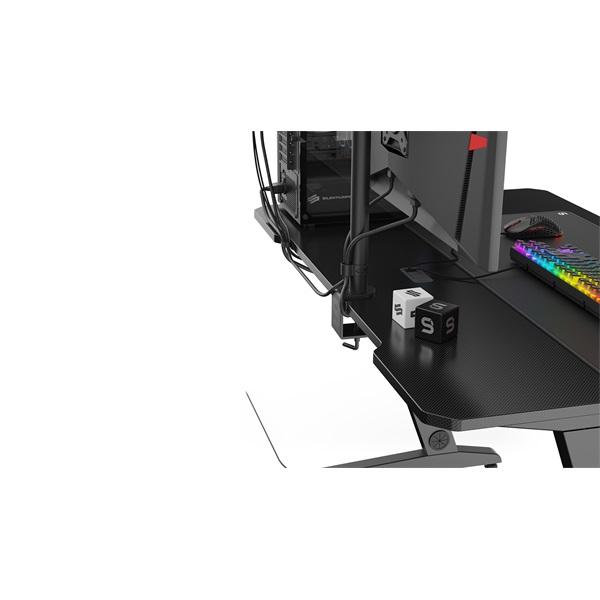 SPC Gear GD100 fekete gamer asztal - 3