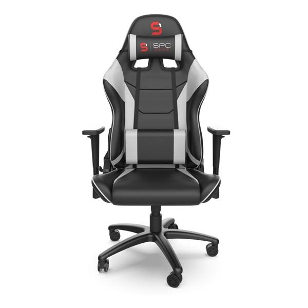 SPC Gear SR300 V2 fehér gamer szék - 1