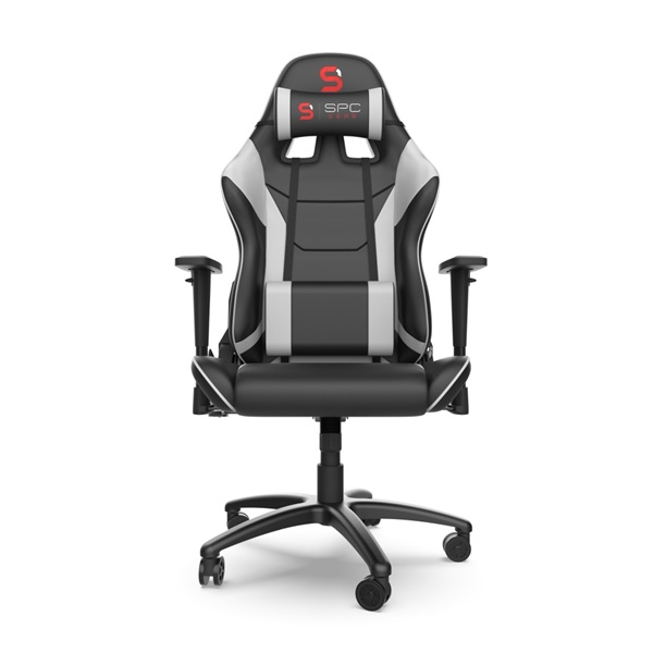 SPC Gear SR300 V2 fehér gamer szék - 10