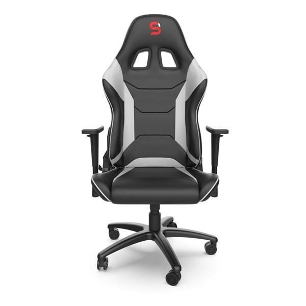 SPC Gear SR300 V2 fehér gamer szék - 2