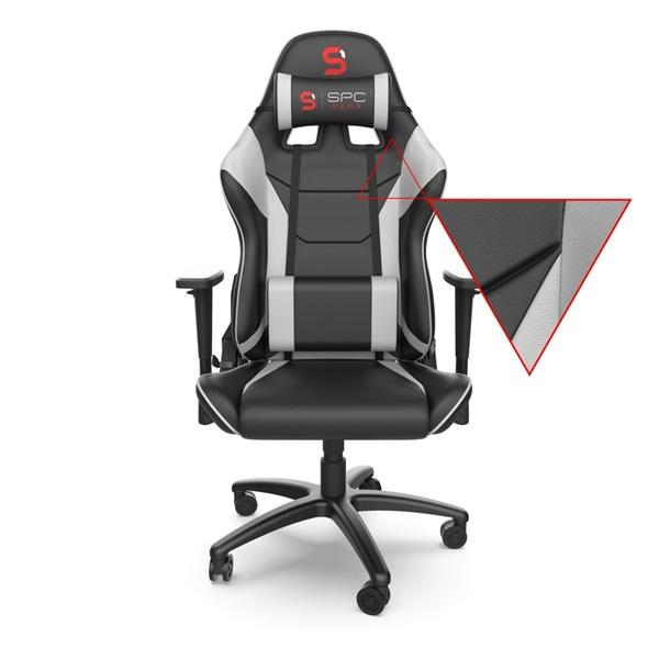 SPC Gear SR300 V2 fehér gamer szék - 3