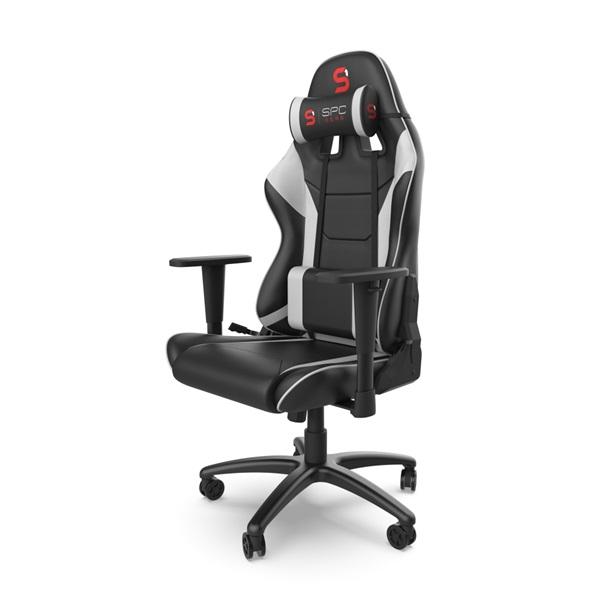 SPC Gear SR300 V2 fehér gamer szék - 5