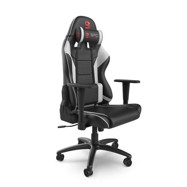 SPC Gear SR300 V2 fehér gamer szék - 6