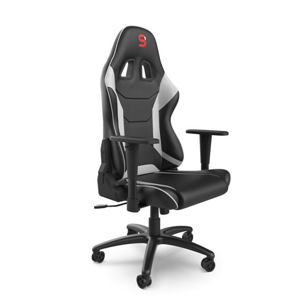 SPC Gear SR300 V2 fehér gamer szék - 7